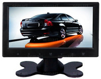 Wholesale Super Slim quot Stand Alone TFT LCD Car Monitor with Speaker Digital amp Analog TV optional