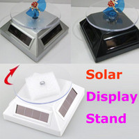 Wholesale Solar Powered Degree Rotating Display Stand Turn Table Plate