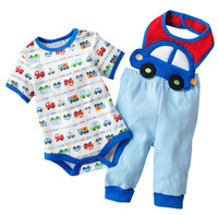 baby boy - Baby suits bodysuits rompers bibs pants baby clothes trousers baby boys sets shirt top outfits ZW684