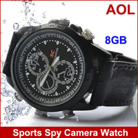 Wholesale Sports Spy Camera Watch With GB Memory USB Watch GB Flash Memory Timepiece