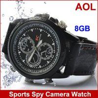 Wholesale Sports Spy Camera Watch With GB Memory USB Watch GB Flash Memory Timepiece