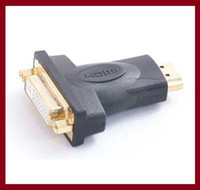 Cheap DVI Female TO HDMI Male Adapterfor HDTV LCD Gold Plated Connector