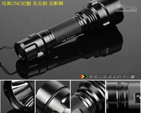 Wholesale Ultrafire C8 US CREE Q5 LED flashlight outdoor camping flashlight cycling flashlight