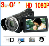 Wholesale new arrival TFT HD FULL P HD A70 X MP Digital Video Camera camcorder
