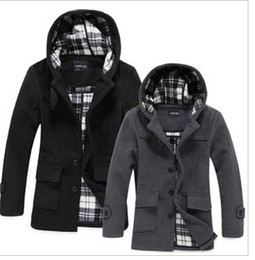 Wholesale hot sale men s black grayl coat mix order