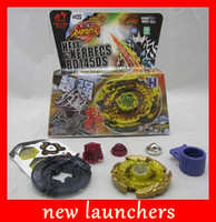 Wholesale NEW Beyblade d games Top Clash Metal Beyblades kids Toys Games drop shipping