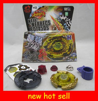 Wholesale 2012 NEW launchers Metal Beyblade d games Top Clash kids Toys