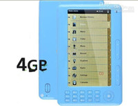 Wholesale 3pcs Inch High resolution eBook Reader Voice Recorder super media player Built in GB MP4