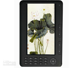 Wholesale DHL ship Inch High resolution eBook Reader Voice Recorder super media player Built in GB MP4