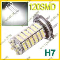 Wholesale 10pcs E04 H7 LED SMD Xenon White Car Fog Headlight Head Light Lamp Bulb DC V