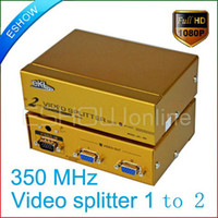 Wholesale 2 Ports High Quality VGA Video Splitter MHz D3093Y