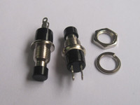 Wholesale SPST Mini Push Momentary Switch V A V A Black or Red or Green Cap Per HOT Sale