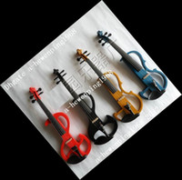 Wholesale New electronic violin red purple yellew blue etc