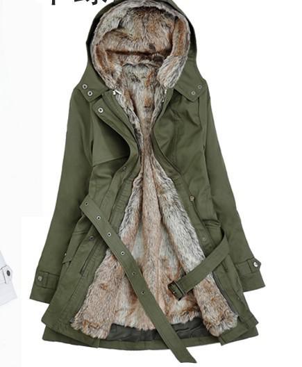 Autumn Winter New Women's Fashion Super Warm Coats Ladies Cold ...