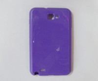Wholesale case for samsung galaxy note n7000 i9220 Bling Glossy skin Soft TPU Gel Back cover skin