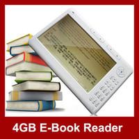 Wholesale 7 inches Screen E Book Reader MP3 MP4 Player GB GB FM Radio ebook Video P Moive