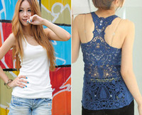 Wholesale Hot Sale Fashion Lady s sexy racer back cotton tank top T010