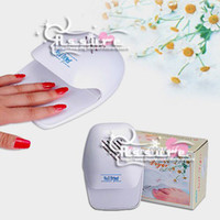 Wholesale Nail Dryers Professional nail tools Touch inductive Mini white Nail dryer Hair dryer Exports