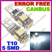 Wholesale E09 Canbus T10 W5W LED SMD White Car Side Wedge Light Lamp Bulb