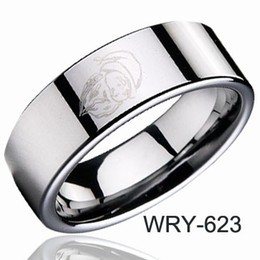 Tungsten Rings | Tungsten Carbide Santa Claus Rings