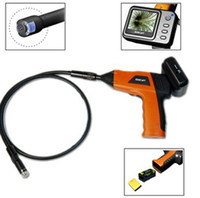 Wholesale Wireless Inspection Camera with Color LCD Monitor Review Endoscope Conduit