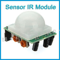 Wholesale Adjust IR Pyroelectric Infrared PIR Motion Sensor Detector Module New