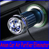 Wholesale selling Anion Purifier Eliminator Anion Auto Mini Air Purifier Eliminator Ozone Car s Oxygen Bar