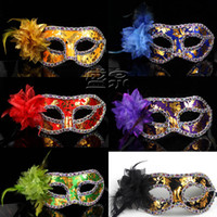 Wholesale 50pcs kinds of color Halloween mask Party masks Christmas masquerade masks Role play masks