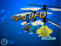 Wholesale Fun Toy Mini LED Infrared Gyro RC UFO Aerocraft Flying Disk Flying Gyro remote control UFO