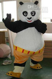 Wholesale Kung fu panda mascot costume adult size Kungfu panda costume Halloween Fancy Dress