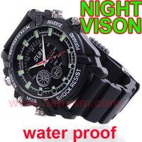 Wholesale 4GB Night Vision Real p Waterproof Spy Watch Camera W1000