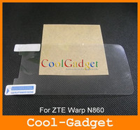 For Chinese Brand Front No Screen Protector Protection guard Film for ZTE Warp N860 No retail package 500pcs Wholesale MSP401