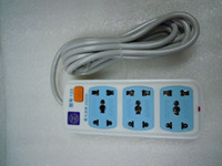 Wholesale UNIVERSAL SIX OUTLET POWER STRIP SURGE PROTECTOR FOR V VOLTS