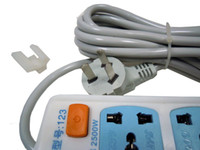 Wholesale UNIVERSAL SURGE PROTECTION SIX OUTLET HIGH POWER STRIP SURGE PROTECTOR V VOLTS GOOD QUALITY FAMILY ELECTRONIC EQUIPMENT