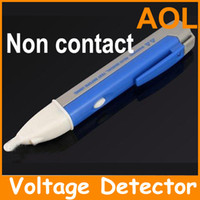 Wholesale Non Contact Voltage Tester Detector Pocket Pen Style Voltage Alert Alarm with LED Illumination Meter