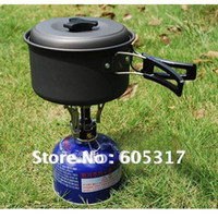 Wholesale discount Foldable Hiking Portable Camping Stove with Box Packing