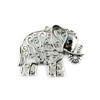 alloy Elephant  elephant charms - LOW Price Skillful Fashion Accessories Of Elephant Scarf Pendants PT