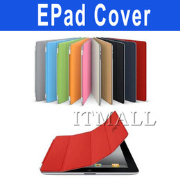 Wholesale 30pcs Multi color Smart Cover for pad2 Retail Box Water Proof Scratch Proof Grease Proof Smart Cover