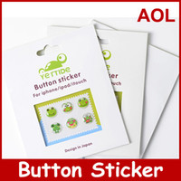 Wholesale 300pack stickers Home Button Sticker for i M0bile Phone Many Teams YETTIDE New Arrival