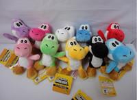 Wholesale Soft Plush Super Mario Bros Yoshi Plush Anime quot toy colors Keychain