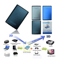 Signal Video 2d to 3d - Conversion Signal Video D Converter D to D TV Movie with amber blue glasses remoter
