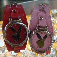 Quartz playboy watches - Round Style Playboy Big Diamond black pink Watch WirstWatch Fashion Quartz Watches for Boy Girl