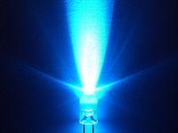 500 x 5mm round Blue LED superbright bulb lamp light