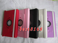 Wholesale 360 Rotating Swivel stand leather case cover leechee pouch for Amazon Kindle fire Tablet