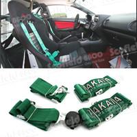 Wholesale High Quality TAKATA Racing Seat Belt Simple Four Point Racing Seat Belts Four Point Car Seat Belt