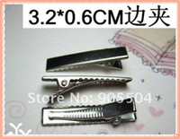 Wholesale 3 CM Alligator Clip Metal Crocodile Clips Flower Clips