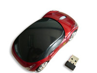 10pieces lot car shaped 10M 2. 4G USB Wireless Optical Mouse ...