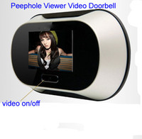Wholesale 2 quot LCD Digital Video Door Viewer Peephole Doorbell Security Camera Greensun