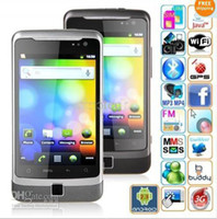 Wholesale W7272 MTK6573 Android capacitive GSM WCDMA G unlocked smartphone inch