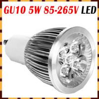 NEW GU10 5W LED Bulb Power Spot Light Warm White 85- 265V Ene...